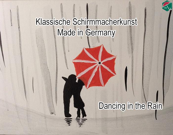 Klassische Schirmmacherkunst made in Germany