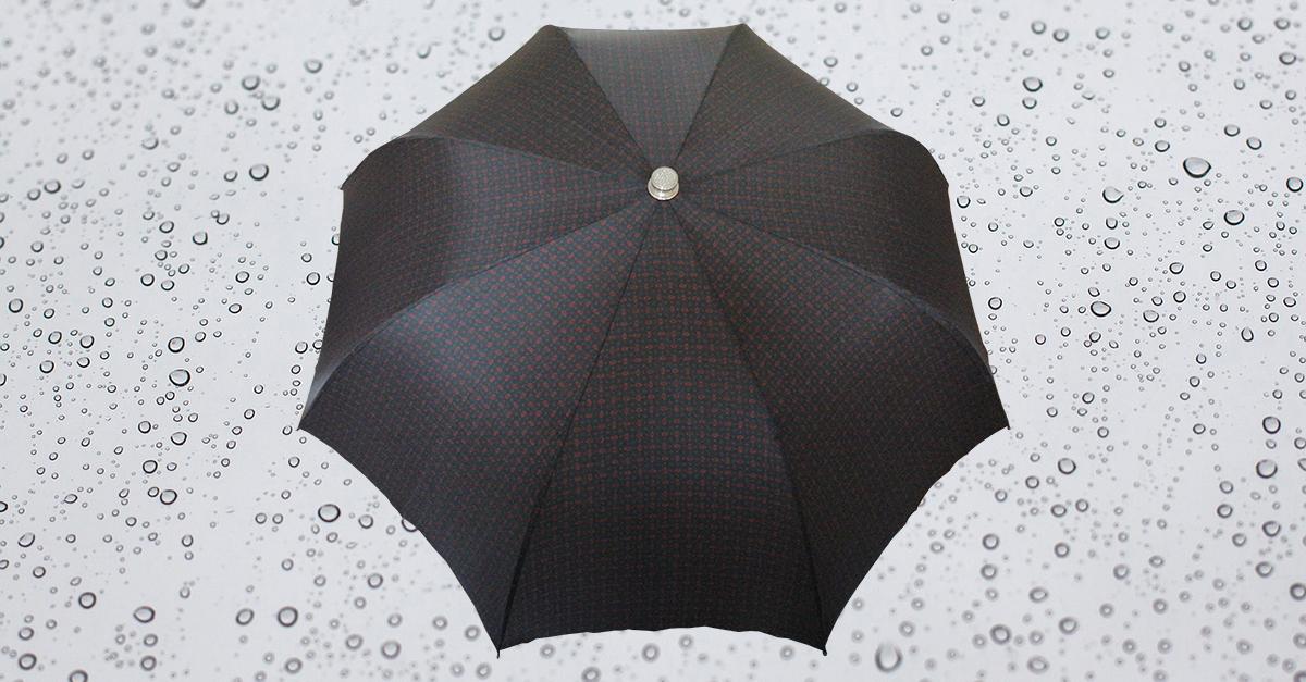 HP183 Herren Taschenschirm, 8 teilig, manuelle Öffnung, ohne Futteral