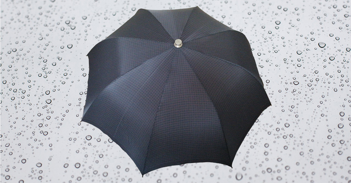 HP184 Herren Taschenschirm, 8 teilig, manuelle Öffnung, ohne Futteral