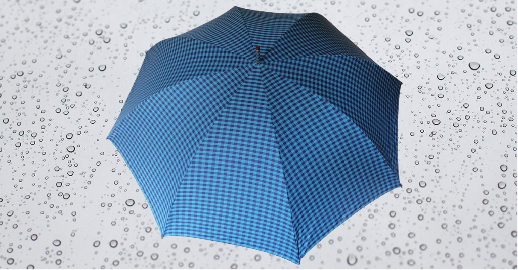 HB194 Herren Partnerschirm, Langschirm, Stahlstock mit angesetztem Griff, 8 teilig, Bezugsmaterial Baumwolle